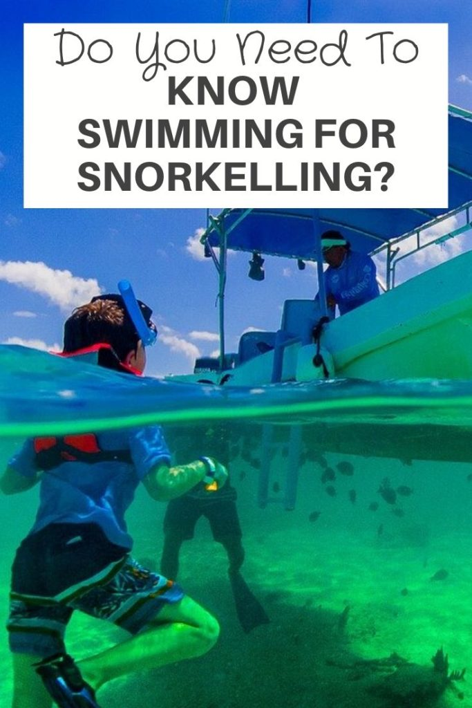 Do You Need To Know Swimming For Snorkelling