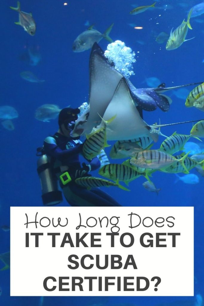 How Long Does It Take To Get Scuba Certified