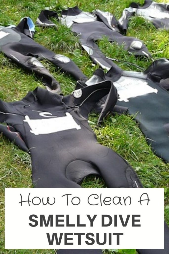 How To Clean A Smelly Dive Wetsuit