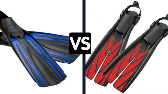 Split Fin vs Full Fin