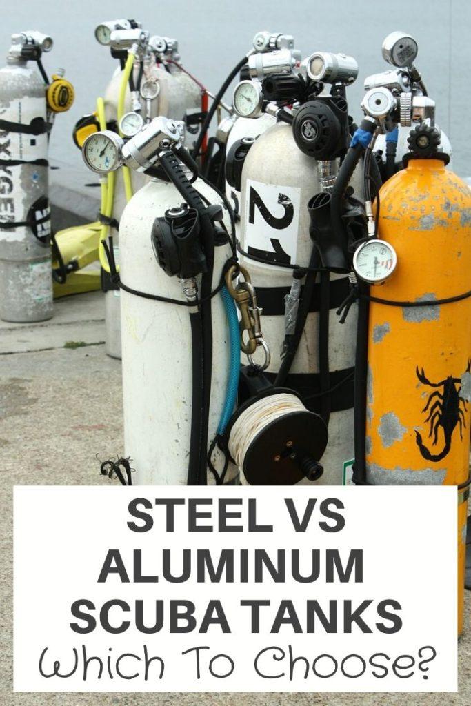 Steel vs Aluminum Scuba Tanks