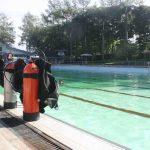 dive tanks equipment