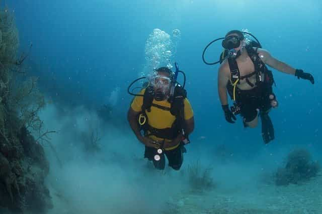 scuba diving is fun
