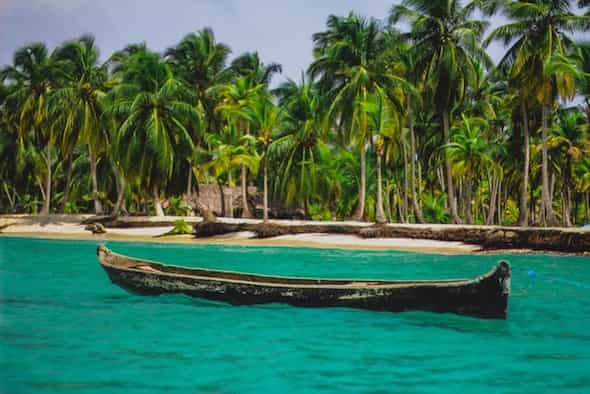 Panama coastline