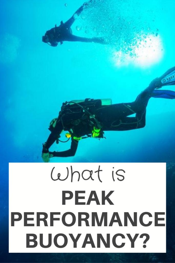Peak Performance Buoyancy?