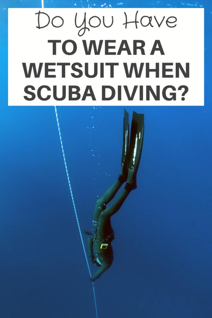 To Wear A Wetsuit When Scuba Diving
