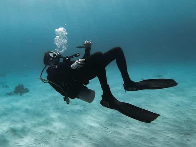 Floating Diver