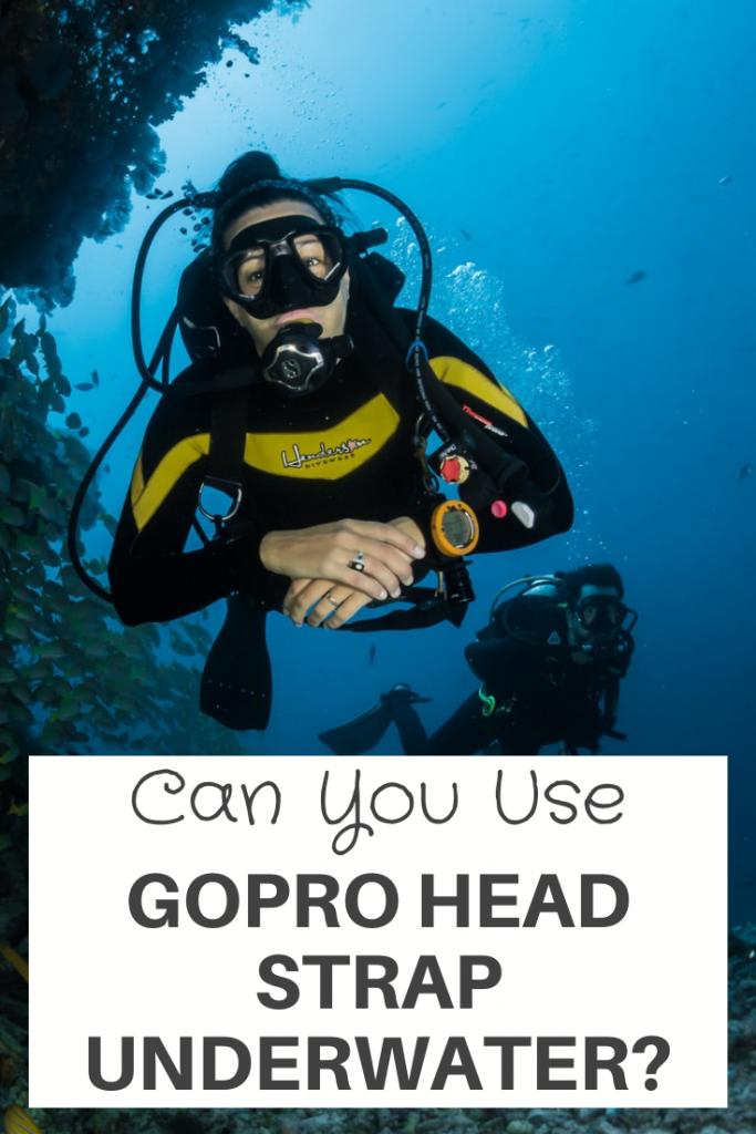 GoPro Head Strap Underwater