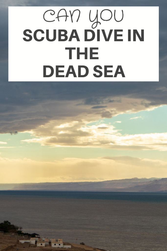 scuba dive in the dead sea