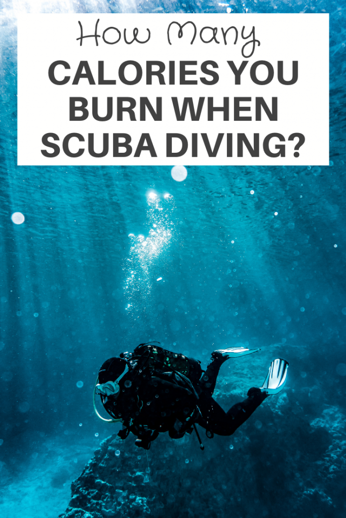 calories you burn when scuba diving