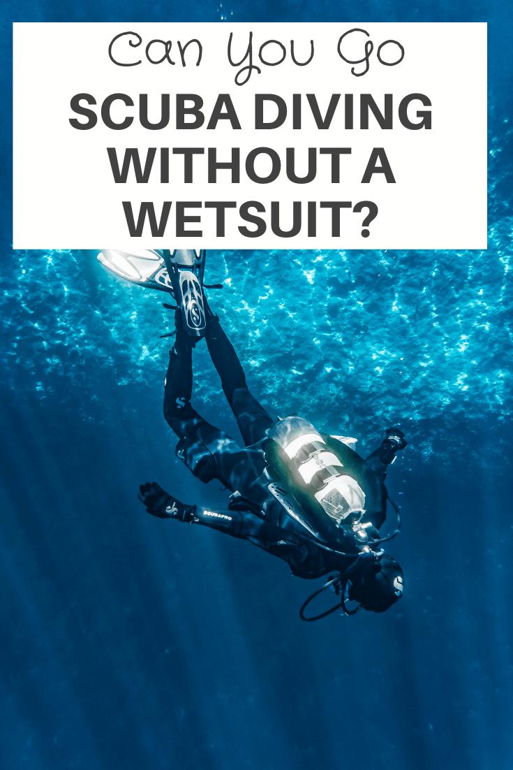 Scuba Diving Without A Wetsuit